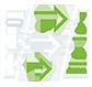 Optimise Data Flow icon White